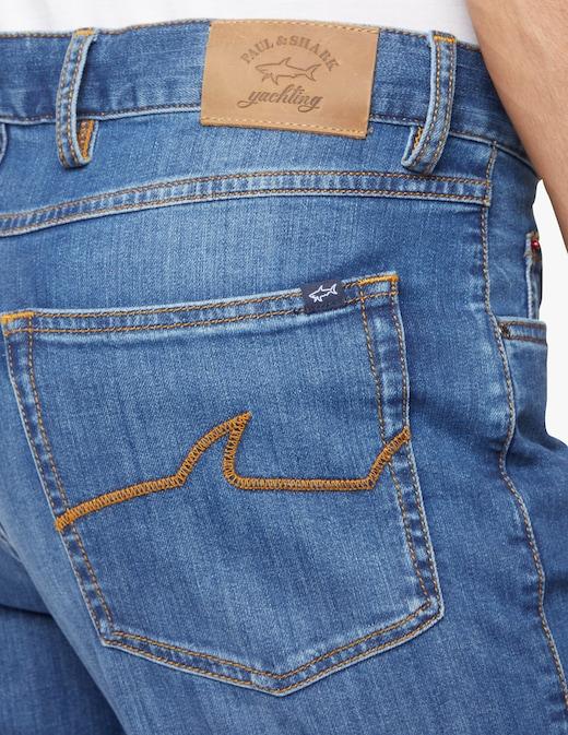rinascente Paul & Shark Red rivet jeans cotone organico stretch