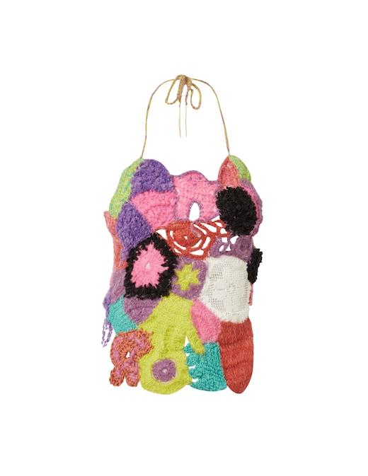 rinascente Marco Rambaldi Cotton blend crochet top