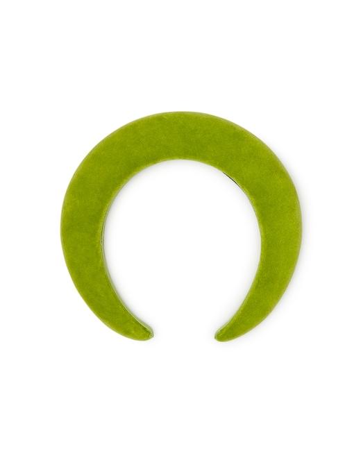 rinascente Bluetiful Milano Cerchietto Imbottitio - Velluto Verde Kiwi