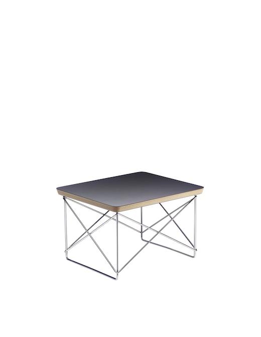rinascente Vitra Occasional Table LTR, black, chrome