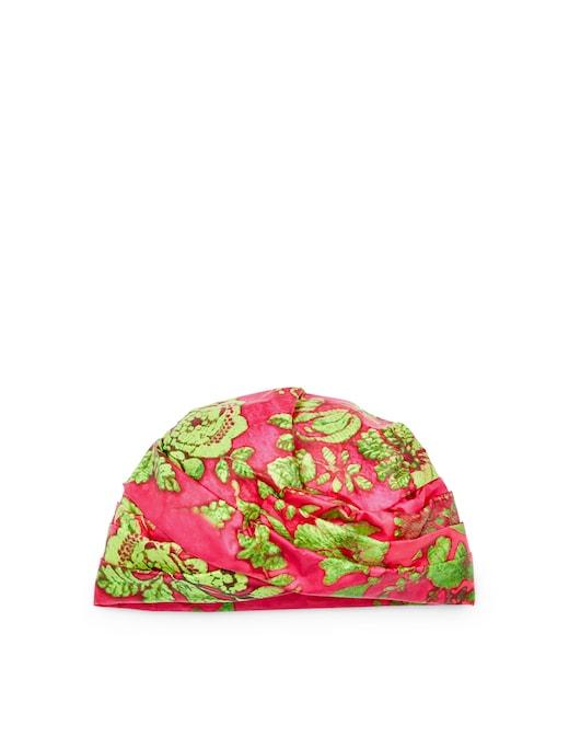 rinascente Flapper Printed nylon turban Elisabeth