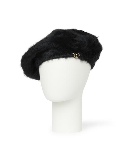 rinascente Filippo Catarzi 1910 Angora beret hat
