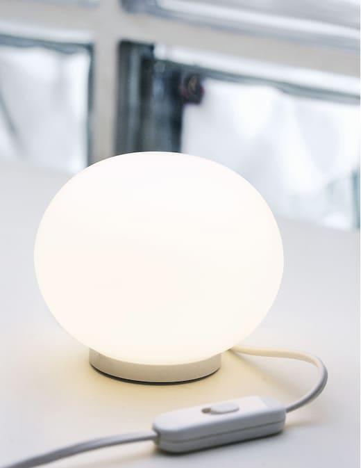 rinascente Flos Mini Glo-Ball lampada da tavolo
