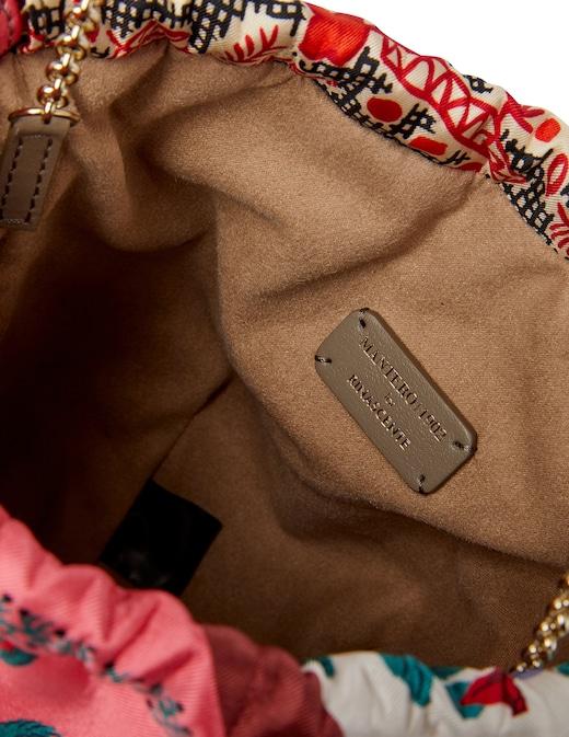 rinascente Mantero 1902 The Disco Bag - Flower Sun mini bucket bag