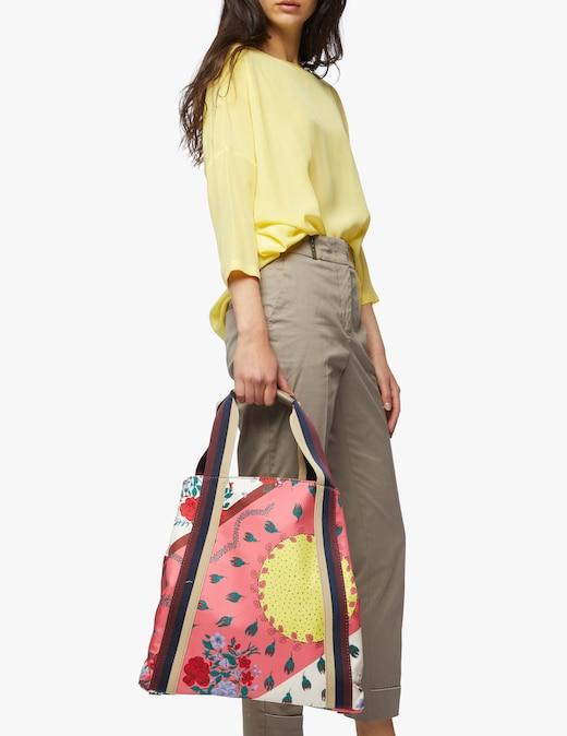 rinascente Mantero 1902 Flower Sun shopping bag
