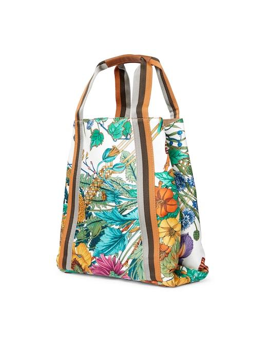 rinascente Mantero 1902 Bouquet shopping bag