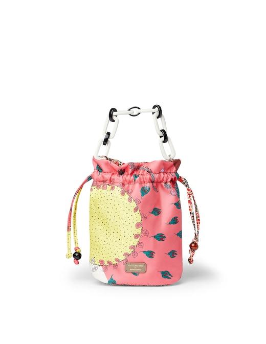 rinascente Mantero 1902 Flower Sun mini bucket bag