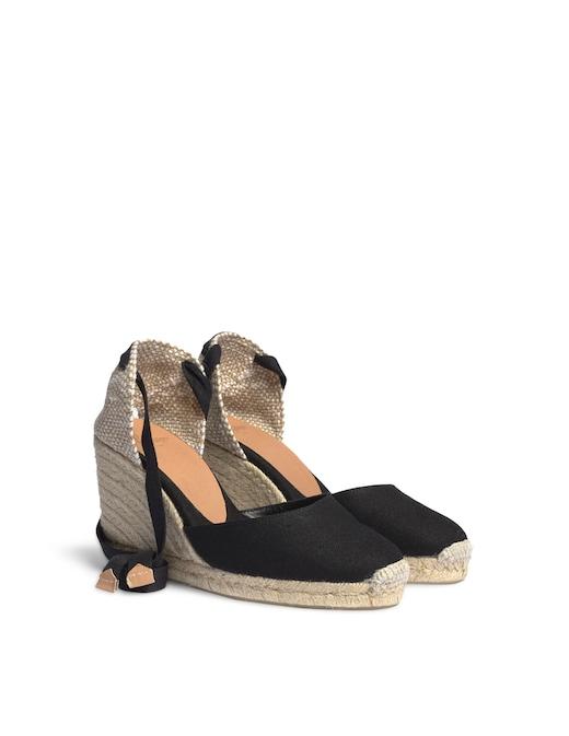 rinascente Castaner Carina canvas wedges sandals