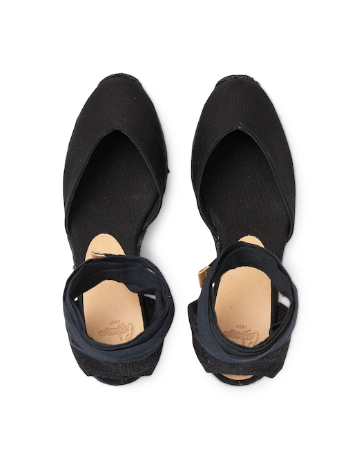 rinascente Castaner Chiara canvas wedges sandals