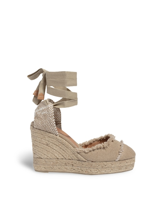 rinascente Castaner Catalina canvas wedges sandals