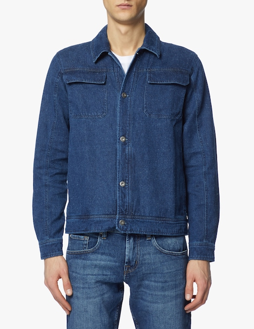 rinascente Thinking Mu Giacca di jeans con tasca work