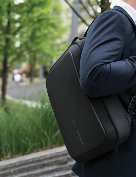 rinascente Bobby Bizz anti-theft backpack & briefcase