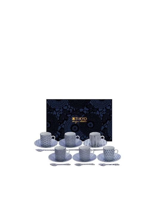 rinascente TOKYO design studio Espresso cup set 18pcs 80ml