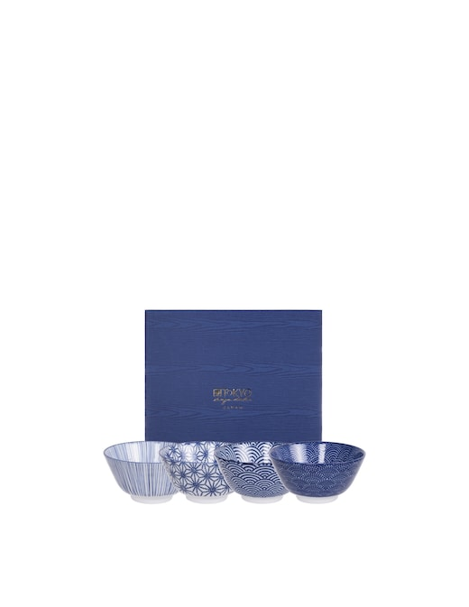 rinascente TOKYO design studio Rice Bowl Giftbox 4pcs 12x6.4cm 300ml