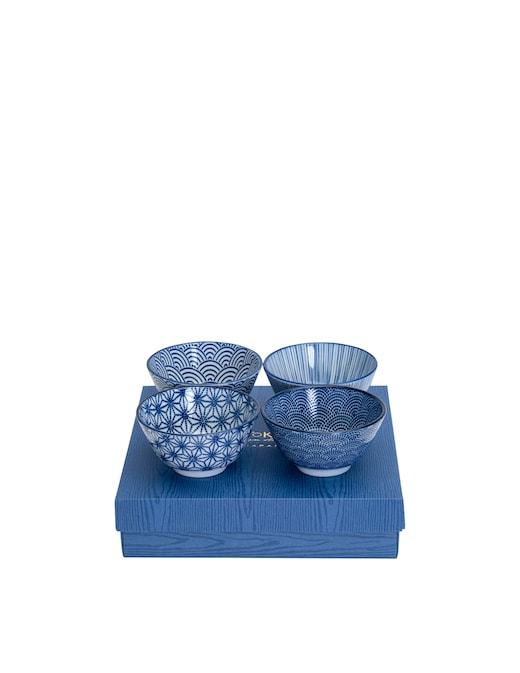 rinascente TOKYO design studio Ciotola di riso box regalo 4pz 12x6.4cm 300ml