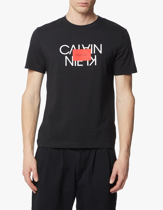 rinascente Calvin Klein Tshirt logo invertito