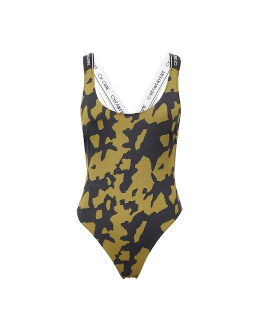 rinascente Calvin Klein High leg one-piece swimsuit