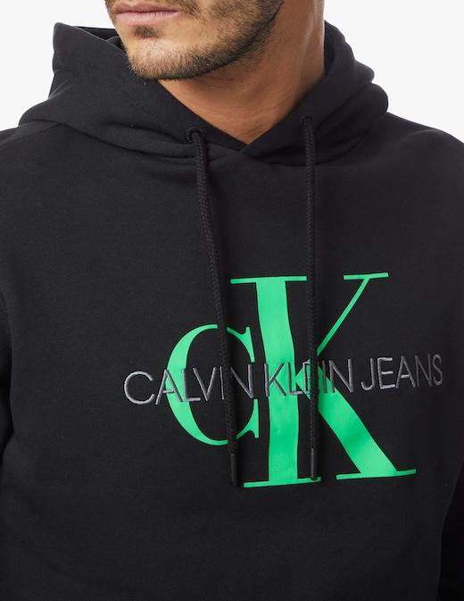 rinascente Calvin Klein Jeans Pocket monogram hoodie