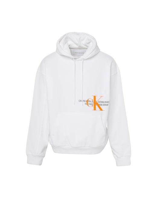 rinascente Calvin Klein Jeans Logo urban graphic hoodie