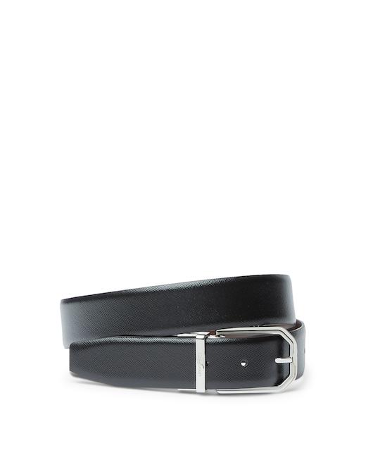 rinascente Calvin Klein Cintura saffiano 35 regolabile e reversibile