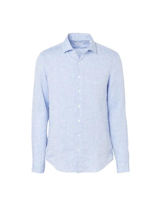 rinascente Calvin Klein Camicia in lino solid slim fit