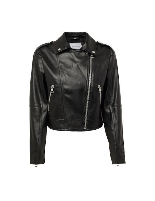 rinascente Calvin Klein Jeans Faux leather jacket