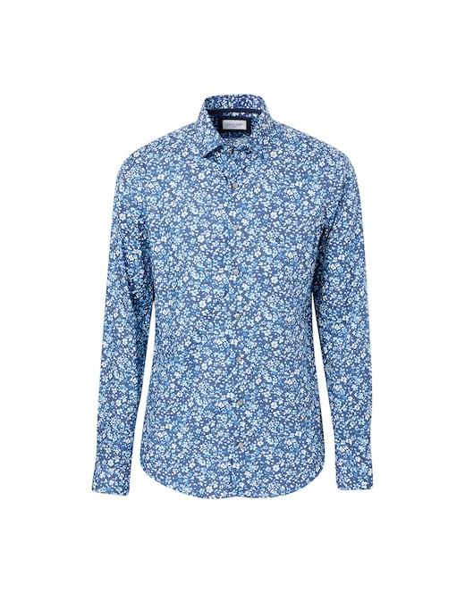 rinascente Calvin Klein Slim flowers shirt