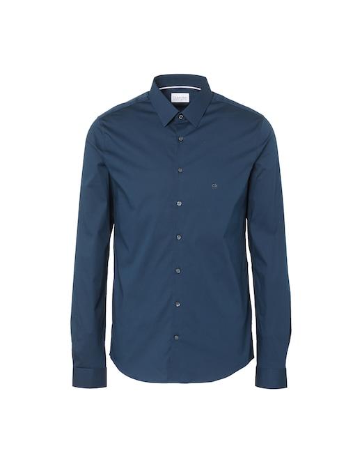 rinascente Calvin Klein Popeline stretch extraslim shirt