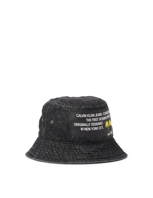 rinascente Calvin Klein Jeans Cappello bucket con fantasia palme