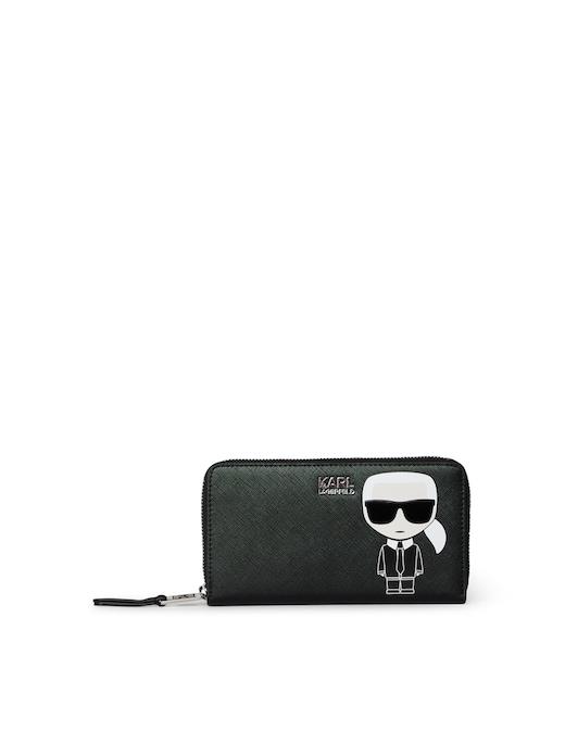 rinascente Karl Lagerfeld Ikonik Cont Zip Wallet