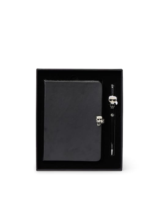 rinascente Karl Lagerfeld Ikonik Notebook Pen Gift Set