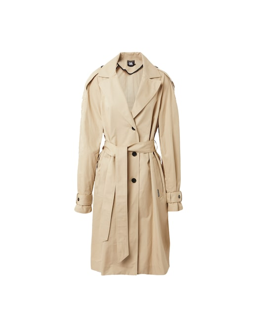 rinascente Karl Lagerfeld Cotton blend trench with belt