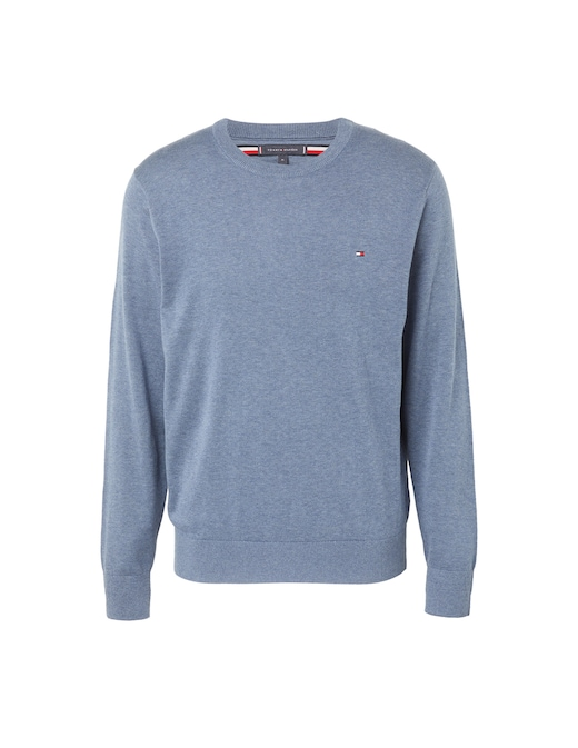 rinascente Tommy Hilfiger Cotton and silk roundneck sweater