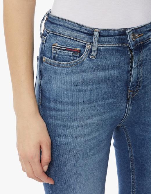 rinascente Tommy Jeans Jeans skinny vita media Nora