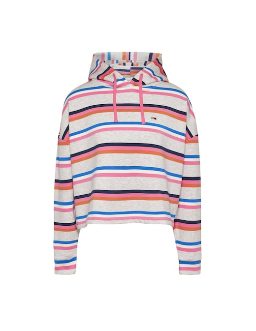 rinascente Tommy Jeans Striped hoodie