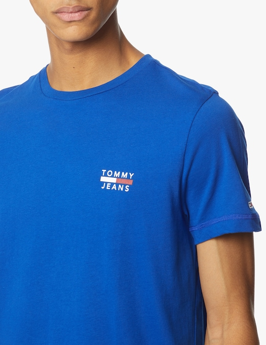 rinascente Tommy Jeans T-shirt slim fit logo essential