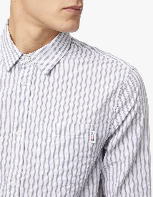 rinascente Tommy Jeans Camicia a righe seersucker