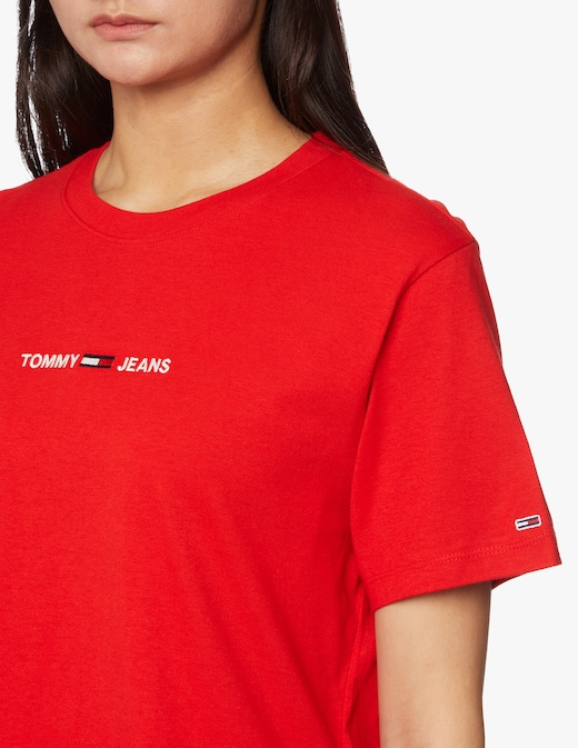 rinascente Tommy Jeans T-shirt in cotone con logo