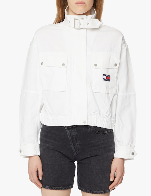 rinascente Tommy Jeans Giacca di jeans crop