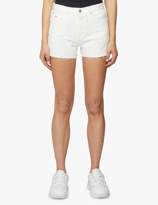 rinascente Tommy Jeans Pantaloni corti di jeans a vita alta