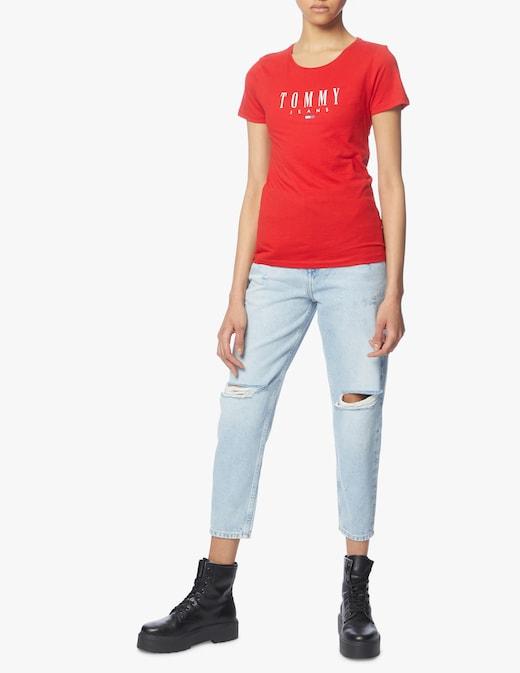 rinascente Tommy Jeans Mom jeans a vita alta