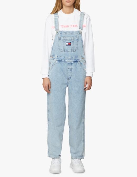 rinascente Tommy Jeans Salopette lunga di jeans