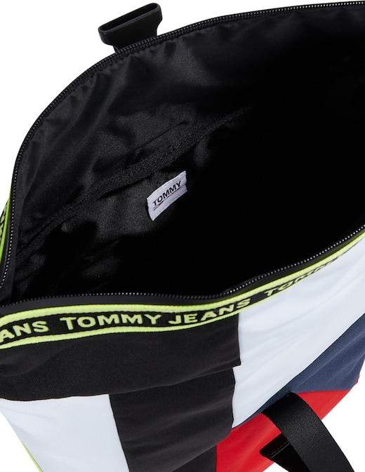 rinascente Tommy Jeans Logo tape fluo roll zaino