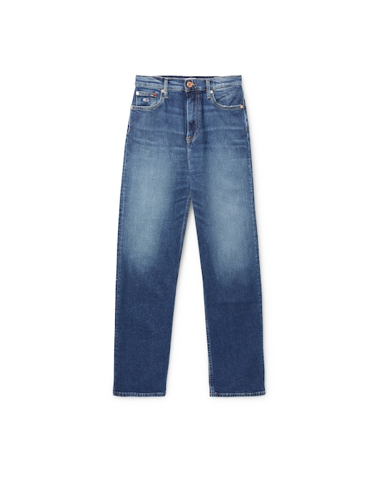 rinascente Tommy Jeans High rise straight leg jeans
