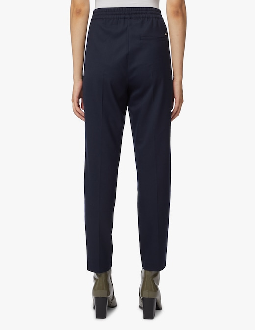 rinascente Tommy Hilfiger Wool blend pull-on trousers