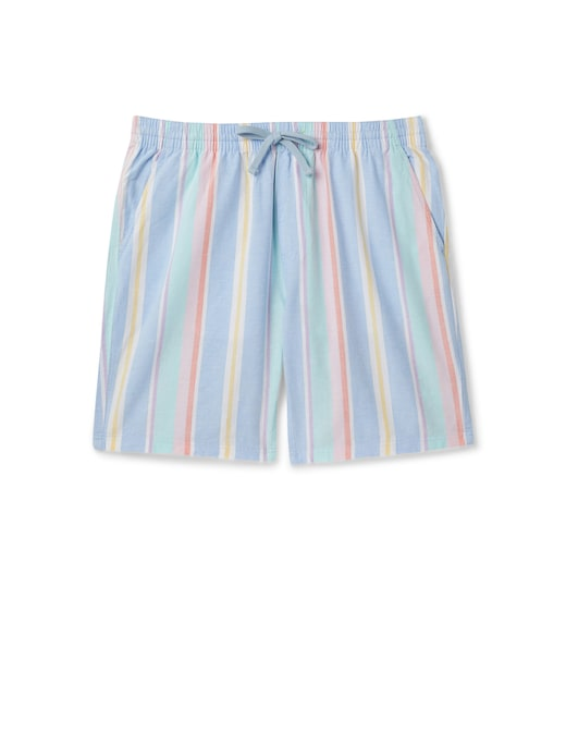 rinascente Tommy Jeans Bermuda pastel in tencel a righe