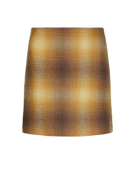 rinascente Tommy Hilfiger Cotton blend check skirt